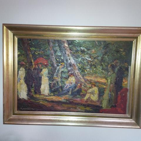 Gemälde - (Künstler, Gemälde, Signatur)