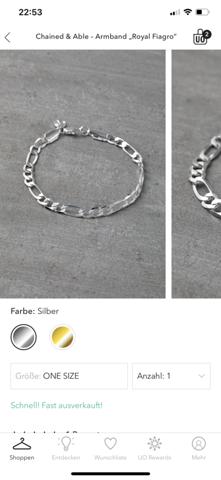 Silbernes Herren Armband kaufen?