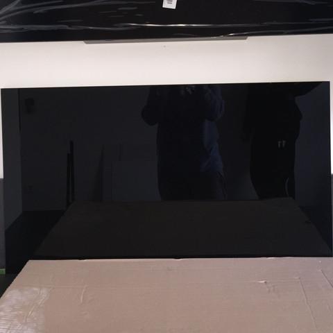 Das schwarze Glas  - (Küche, laufen, Silikon)