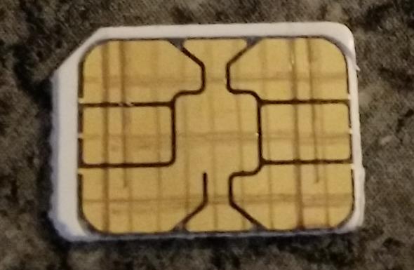 Sim Karte - (Handy, Smartphone, kaputt)