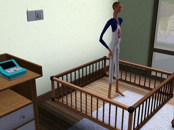 ATS3 Laufstall - (Sims 3, sims baby, Sims 3 bug)