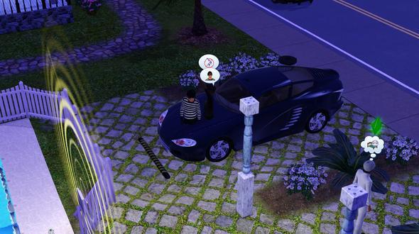 Hier nochmal nen Screenshot davon ;) - (Sims 3, Electronic Arts, einbrecher)