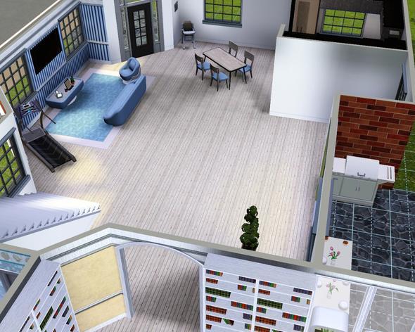sims 3 einrichtung! - Sims 3 Wohnzimmer Modern