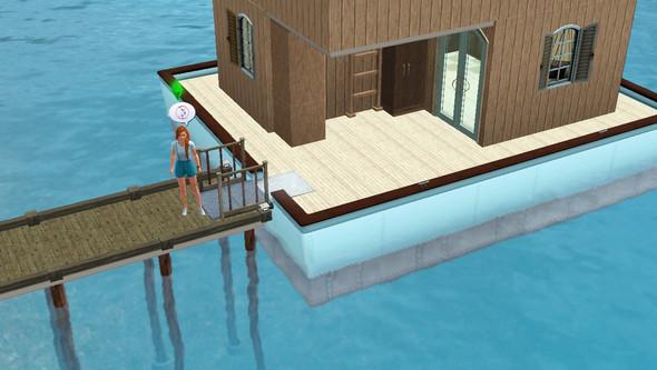 Mein Hausboot: - (Sims 3, Spielfehler)