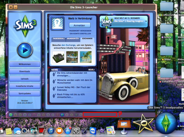 Hier - (Sims 3, Launcher)