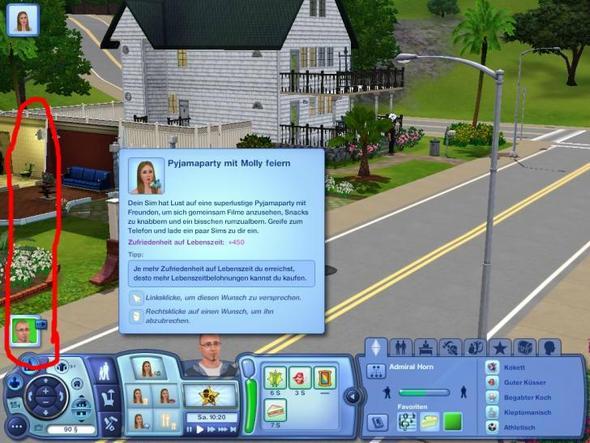 Screenshot von der leiste - (Sims 3, Mods)