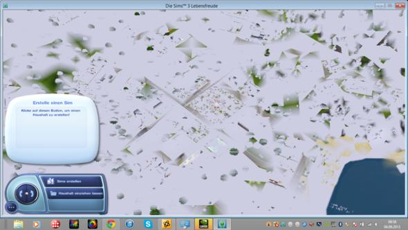 Kartenansicht - (Grafikkarte, Sims 3)