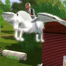 Sims 3 Pegasus Flügel Zum Download