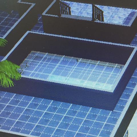 'Dazwischen'  - (Computer, Computerspiele, Sims 3)