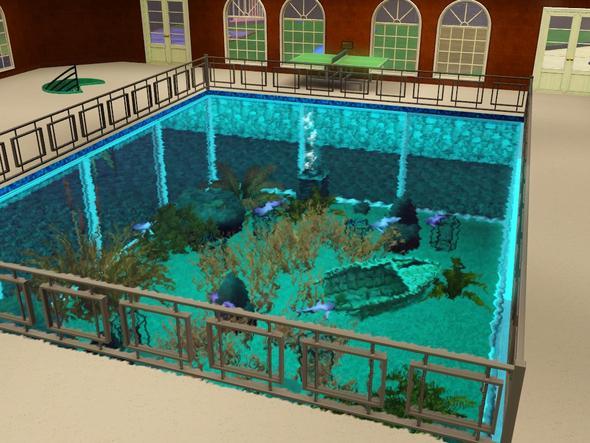 sims 3 wie bekomme ich bodenfliesen direkt auf den pool. Black Bedroom Furniture Sets. Home Design Ideas