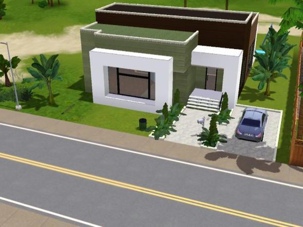 Sims 3 wie findet ihr dieses haus modern house for Modernes haus sims 3