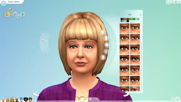 Sims 4 Augenfalten Falten Cas