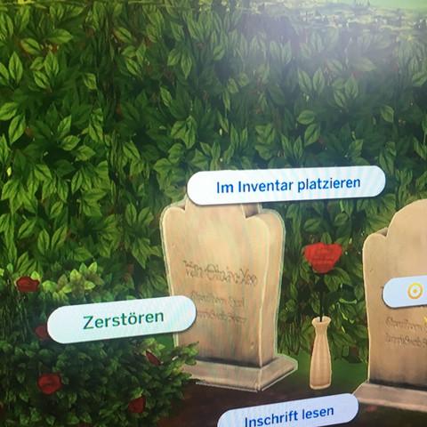 Sims 4 Grabstein zerstören?