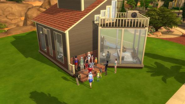 Sims 4 Haus wird als öffentlich angesehen? (PC, Games, Fehler)