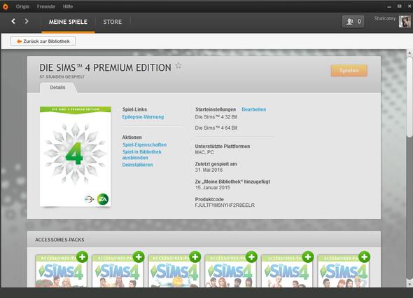 Screenshot von Origin - (Computerspiele, Fehler, Update)