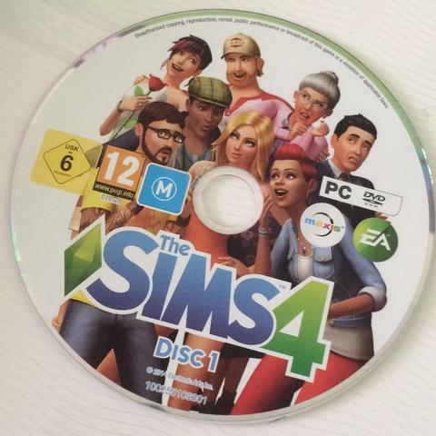 die CD - (PC, Spiele, Sims)