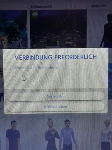 Sims 4 immer Offline, was tun?