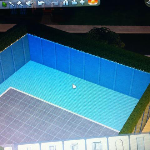 Sims 4 pool auf dem dach fenster baden cas for Sims 4 dach bauen