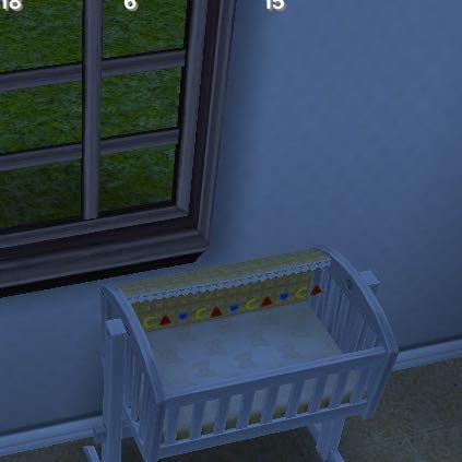 Sims Freeplay Babybett ohne Hinzufüge- Button  - (Computer, Sims Freeplay, Simsbabyhinzufügen)