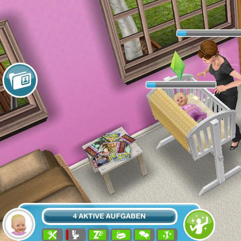 Sims Freeplay - (Sims, Sims Freeplay, sims baby)