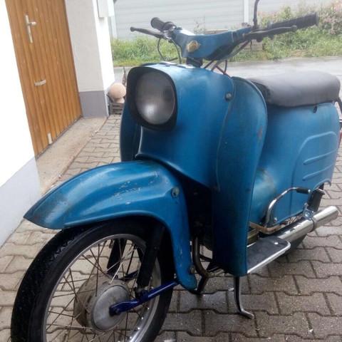 Das ist meine Kr 51/1 BJ. 1978 - (Moped, Simson, Schwalbe)
