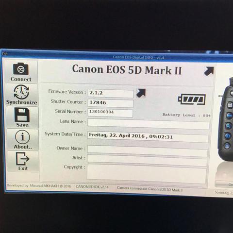 """Sind 17846 Auslösungen bei einer Canon EOS 5D MK II """"viel""""?"""