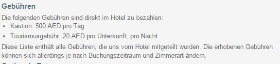 Sind 2.000 Euro Hotelkaution möglich?