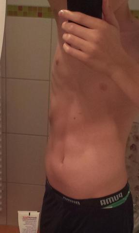 bild - (Sport, Sixpack, Bauchmuskeln)