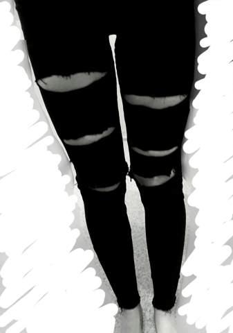 Sind das krumme Beine?