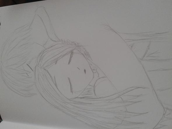 habe ich heute gezeichnet - (Manga, zeichnen)