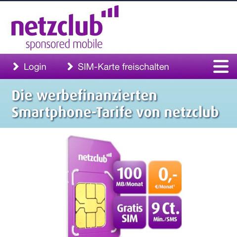 Netzclub  - (Geld, lte)
