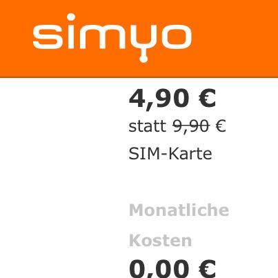 Simyo  - (Geld, lte)