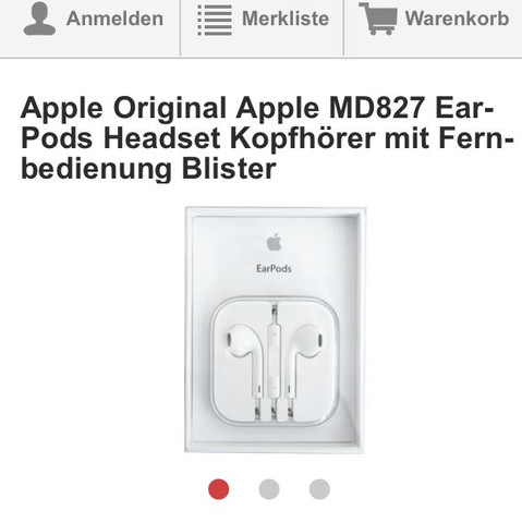 Sind die apple Kopfhörer Original?