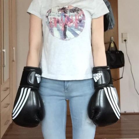 Boxhandschuhe - (zu-gross, Boxhandschuhe)