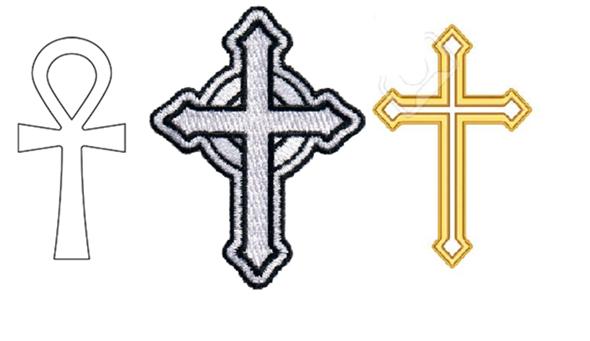 Sind die Kreuze auf dem Bild Katholisch?