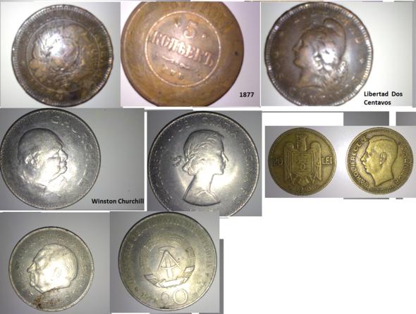 Kleine Auswahl des Münzensackes .... - (Geschichte, DDR, Münzen)