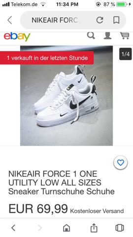 Verkauft die Seite fake Schuhe? (Internet, Mode, Nike)
