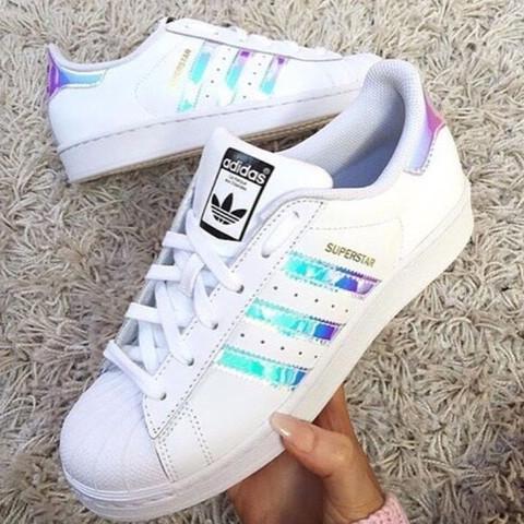 Adidas Superstar Holographic  - (Schuhe, Adidas Superstar)