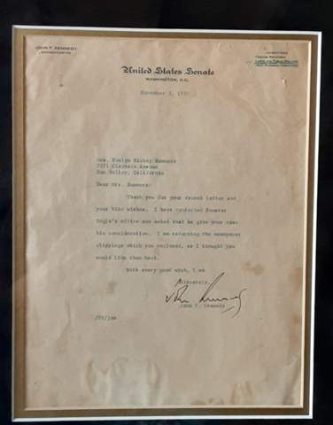Sind die was Wert (Dokumente Kennedy Original Unterschrift)?