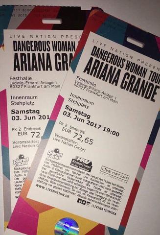 Die Karten die ich gekauft habe - (Betrug, Konzert, Ariana Grande)