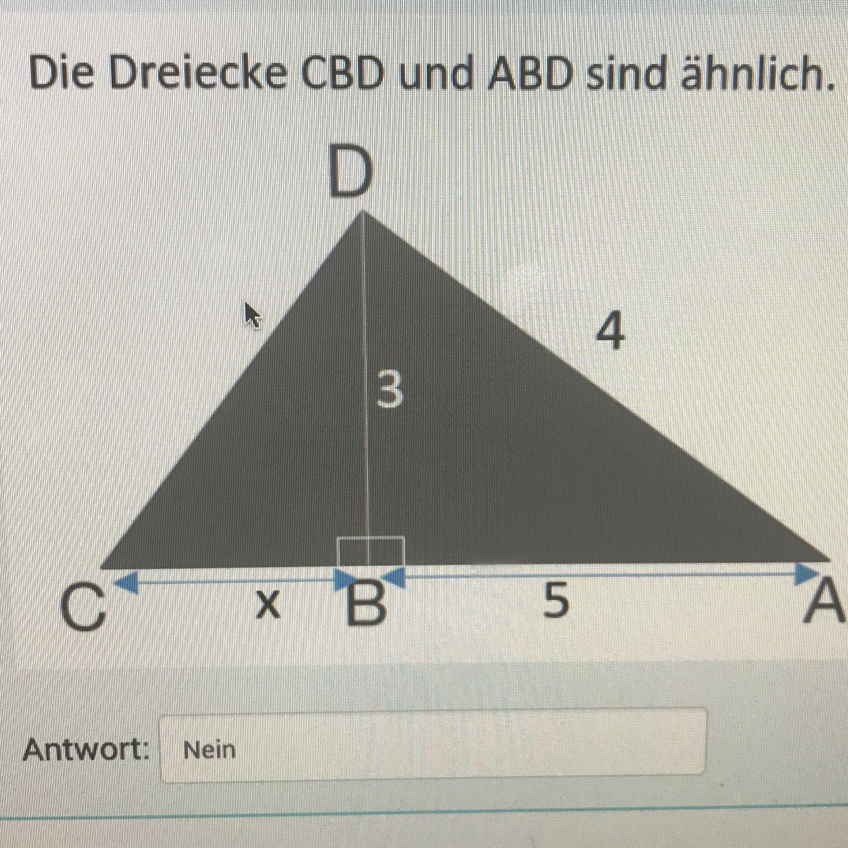 Sind diese Dreiecke Ähnlich? (Schule, Mathe, Mathematik)