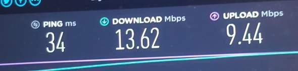 Sind diese Internetwerte Normal?