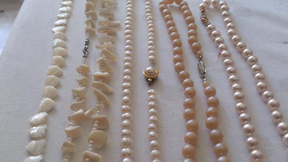 Sind diese Perlenketten echt?