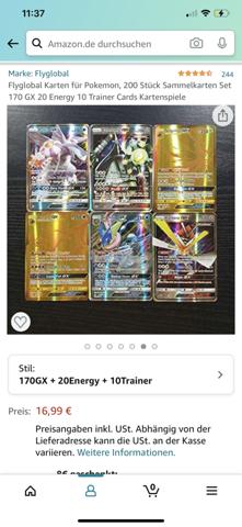 Sind diese Pokemon Karten etwas wert?