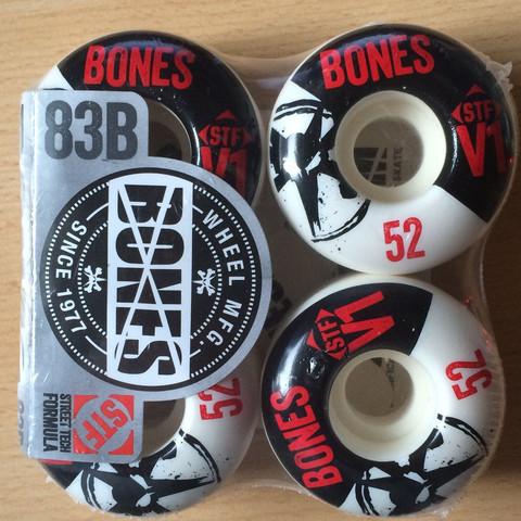 Bones 83B V1 STF - (Skateboard, rollen)