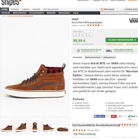 Das sind se - (Schuhe, Winter, Vans)
