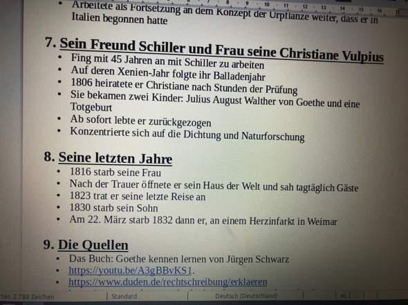 - (Schule, Deutsch, Präsentation)