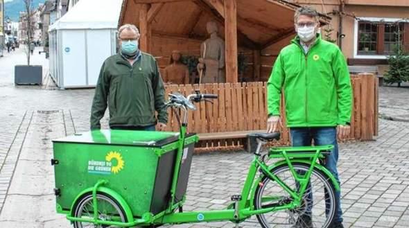 Sind Lastenfahrräder deutschlands Zukunft, so wie es die Grünen sagen?