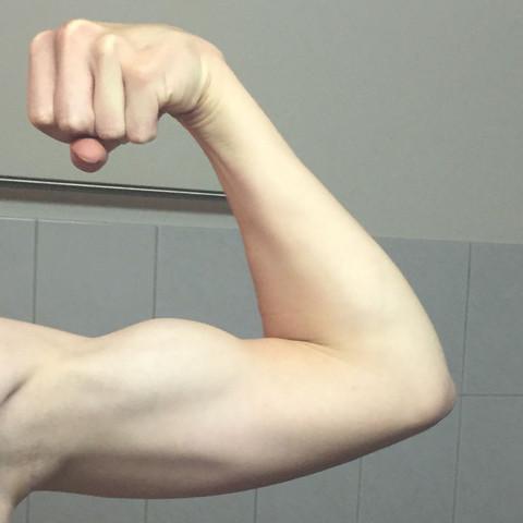 Sind meine arme zu dünn für 16j? (Körper, Muskeln, Arm)