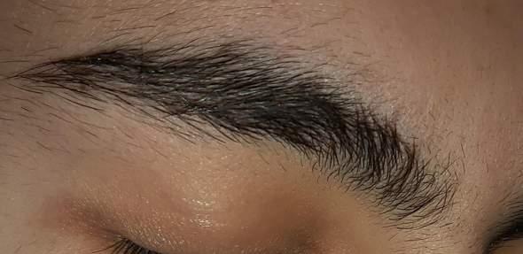 Sind meine Augenbrauen hässlich für einen Jungen?